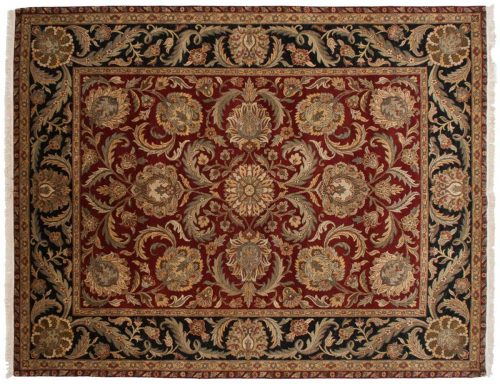 8×10 Jaipur Red Oriental Rug 025566