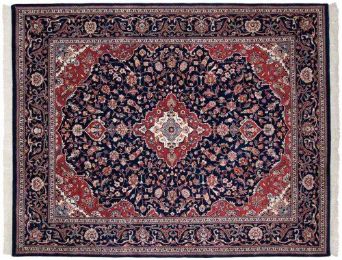 8×10 Kashan Blue Oriental Rug 023769