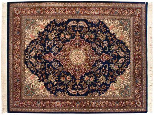 8×10 Kashan Blue Oriental Rug 032219
