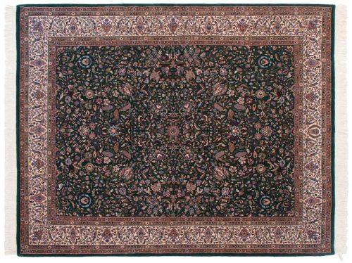 8×10 Kashan Green Oriental Rug 031397