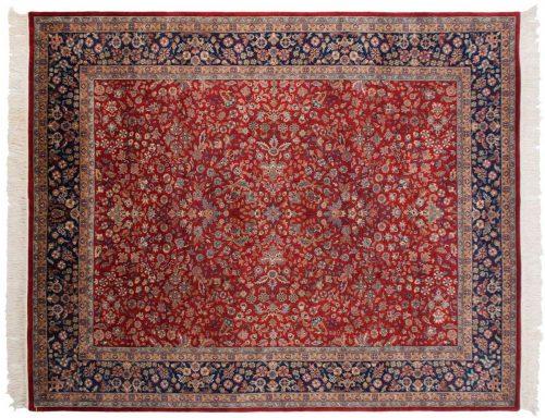 8×10 Kashan Red Oriental Rug 032244