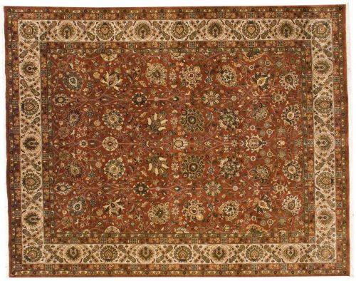 8×10 Kashan Rose Oriental Rug 027101