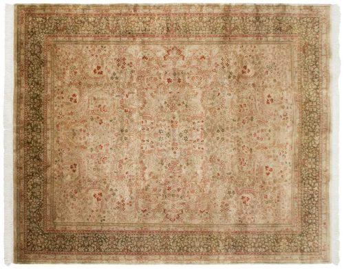 8×10 Kerman Beige Oriental Rug 027880