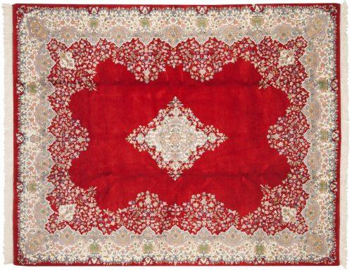 8×10 Kerman Red Oriental Rug 015253