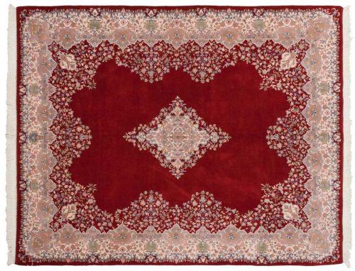 8×10 Kerman Red Oriental Rug 015616