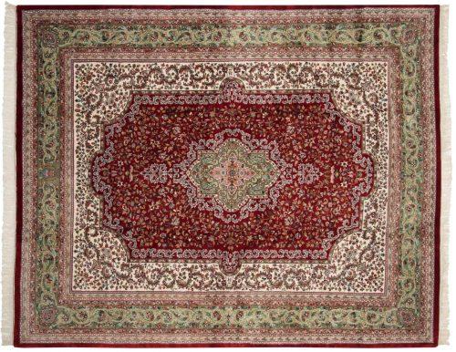 8×10 Kerman Red Oriental Rug 016649