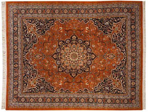8×10 Khorassan Rust Oriental Rug 033205