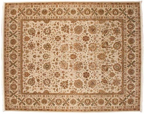8×10 Mahal Beige Oriental Rug 041437