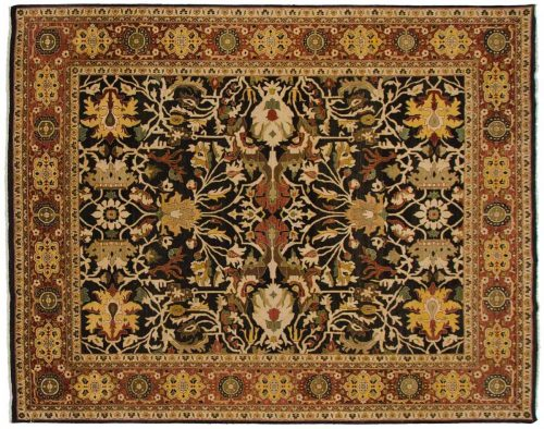 8×10 Mahal Brown Oriental Rug 042772