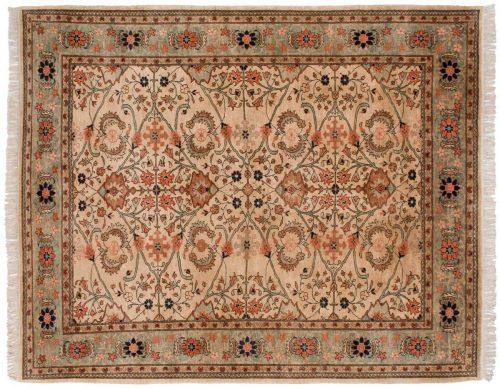 8×10 Mahal Ivory Oriental Rug 025909