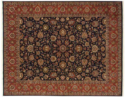 8×10 Mashad Blue Oriental Rug 029893