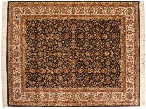 8×10 Meshed Brown Oriental Rug 032632