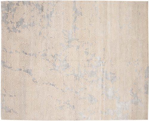 8×10 Modern Ivory Oriental Rug 048234