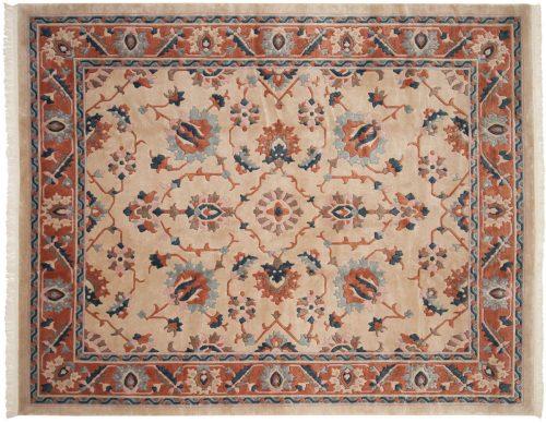 8×10 Oushak Beige Oriental Rug 016608