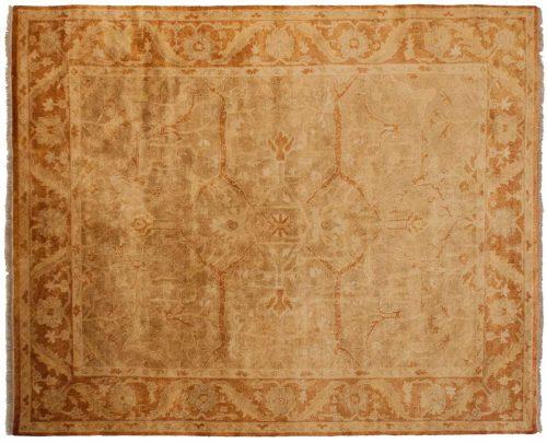 8×10 Oushak Brown Oriental Rug 040357