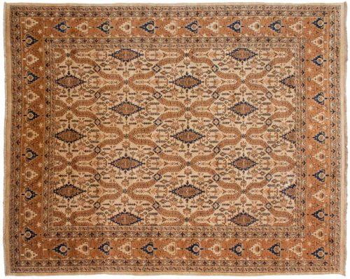 8×10 Persian Beige Oriental Rug 021895