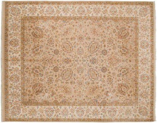 8×10 Persian Beige Oriental Rug 045807