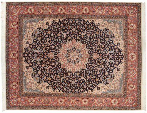 8×10 Persian Blue Oriental Rug 013761