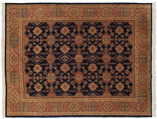 8×10 Persian Blue Oriental Rug 025918