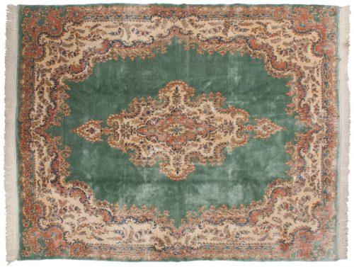 8×10 Persian Kerman Green Oriental Rug 012169