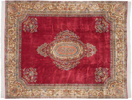 8×10 Persian Kerman Rose Oriental Rug 012283