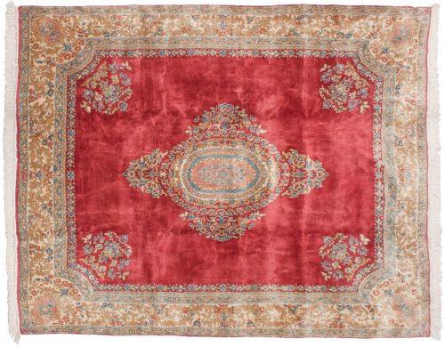 8×10 Persian Kerman Rose Oriental Rug 012298