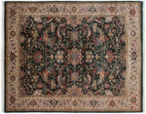 8×10 Agra Green Oriental Rug 014183