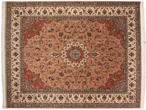 8×10 Persian Peach Oriental Rug 021530