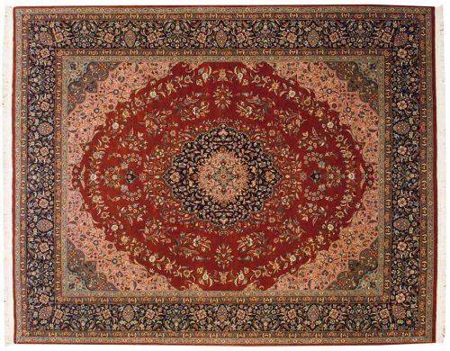 8×10 Persian Rust Oriental Rug 021482