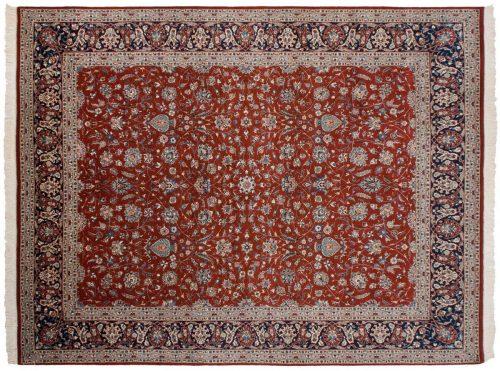8×10 Persian Rust Oriental Rug 039762
