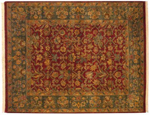 8×10 Mogul Red Oriental Rug 014286