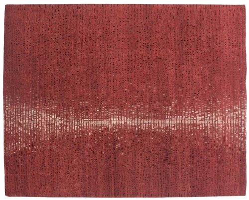 8×10 Mozaic Red Oriental Rug 045971