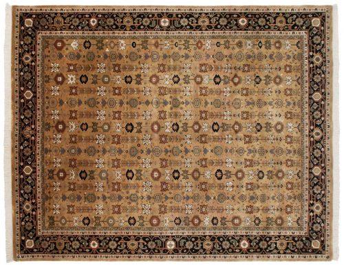 8×10 Agra Rust Oriental Rug 039235