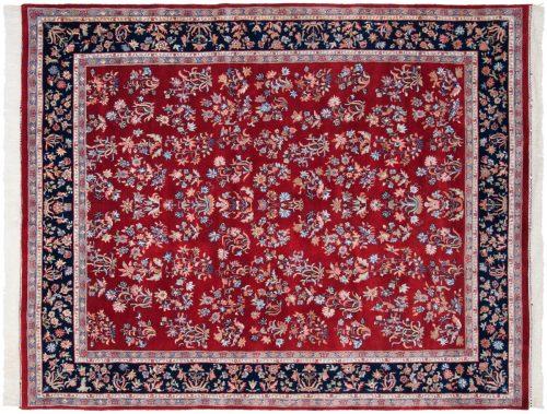 8×10 Sarouk Red Oriental Rug 016460