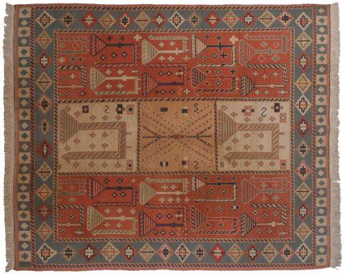 8×10 Sileh Red Oriental Rug 012683