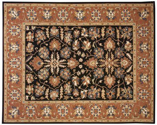 8×10 Soumak Black Oriental Rug 043567