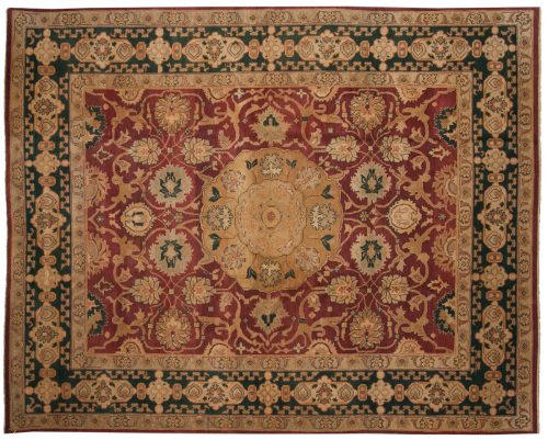 8×10 Sultanabad Red Oriental Rug 017641