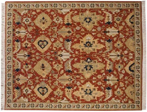 8×10 Sultanabad Rust Oriental Rug 020474