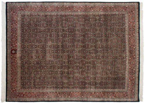 8×10 Tabriz Black Oriental Rug 036438