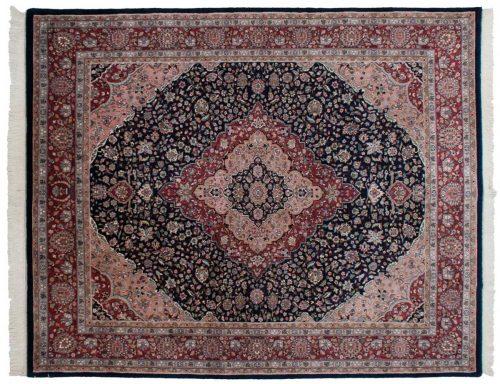 8×10 Kashan Blue Oriental Rug 016509