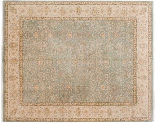 8×10 Tabriz Blue Oriental Rug 046045