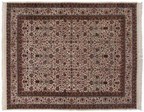 8×10 Tabriz Ivory Oriental Rug 036275