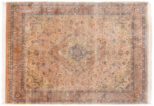 8×10 Kashan Peach Oriental Rug 016888