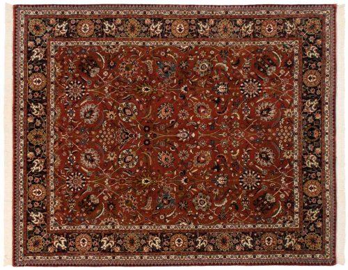 8×10 Tabriz Rust Oriental Rug 017068