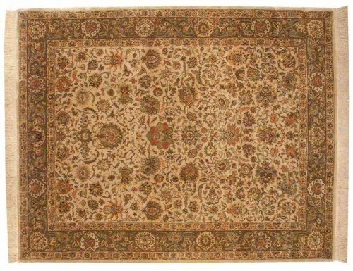 8×10 Tehran Ivory Oriental Rug 032487