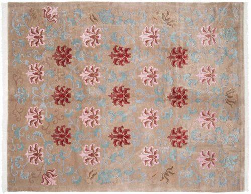 8×10 Tibetan Beige Oriental Rug 036201