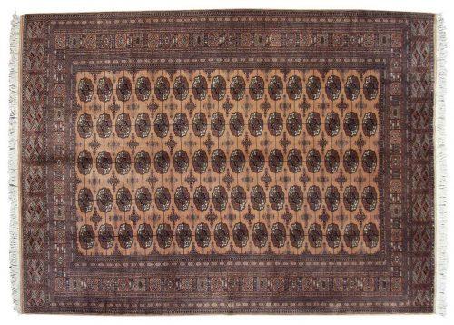 8×11 Bokhara Rose Oriental Rug 021520