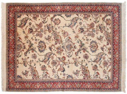 8×11 Bulgarian Ivory Oriental Rug 011354