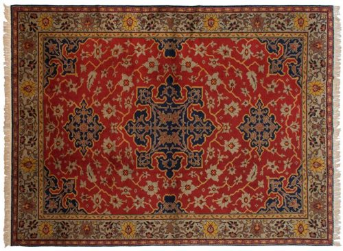 8×11 Caucasian Red Oriental Rug 027296