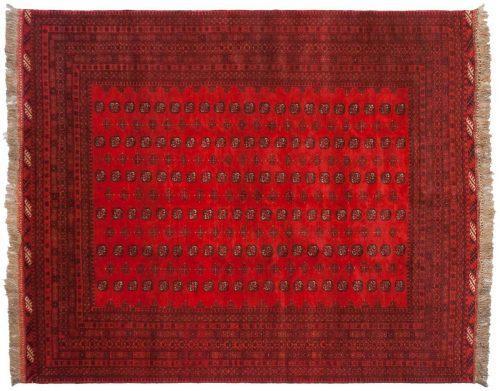 8×11 Daulatabad Red Oriental Rug 011587